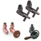Zestawy zaworów i akcesoria dla grzejników żeliwnych
