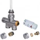 Zestaw zintegrowany termostatyczny prosty z rurką zanurzeniową +głowicaNoble