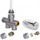 Zestaw zintegrowany termostatyczny prosty z rurką zanurzeniową +głowicaSlim